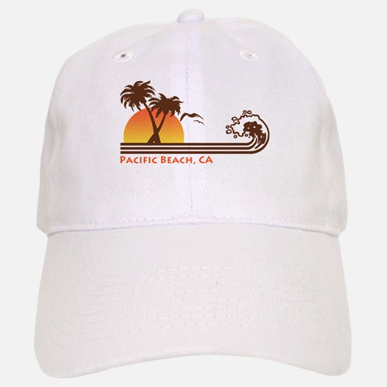 Pacific Beach California Baseball Baseball Cap