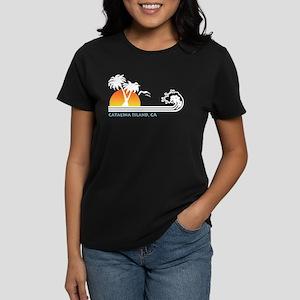 Catalina Island California Women's Dark T-Shirt