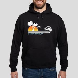 Catalina Island California Hoodie (dark)