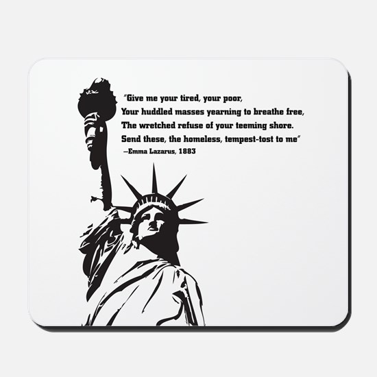 statue of Liberty.jpg Mousepad
