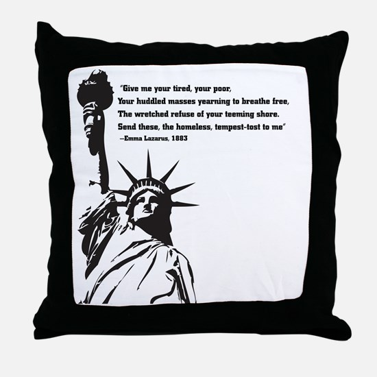 statue of Liberty.jpg Throw Pillow