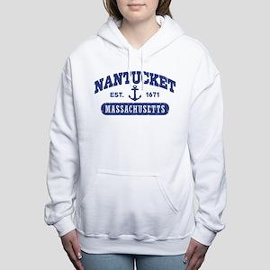 Nantucket Massachusetts Women's Hooded Sweatshirt