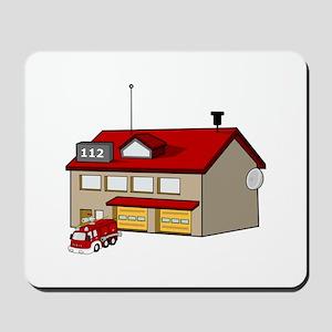 Fire Station Mousepad
