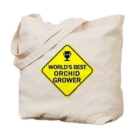 Orchid Grower Tote Bag
