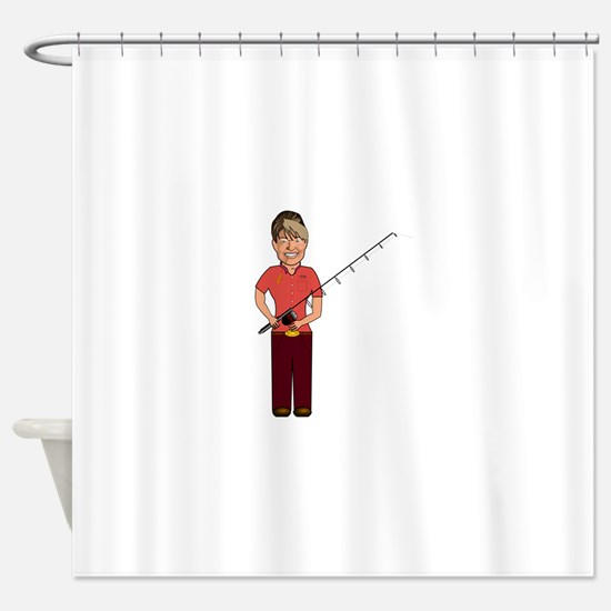 Sarah palin Shower Curtain