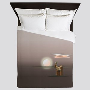 Pelican Cove Queen Duvet
