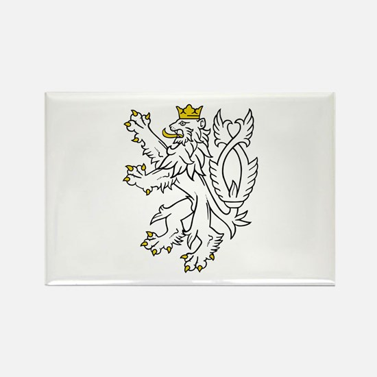 White lion Magnets