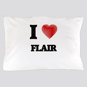 I love Flair Pillow Case