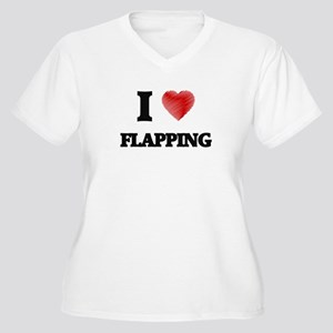 I love Flapping Plus Size T-Shirt