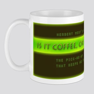 Is it coffee, or re-agent? Mug