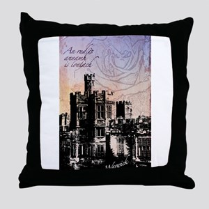 England Design Throw Pillow