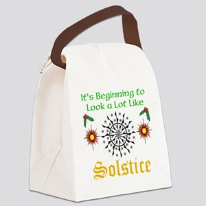 Looks A Lot Like Solstice Canvas Lunch Bag