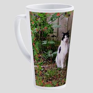 Fat Cat Art 17 oz Latte Mug