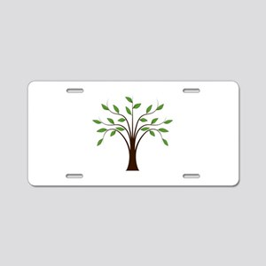 Whispy tree Aluminum License Plate