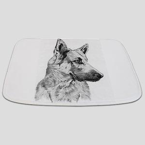 German Shepherd Bathmat