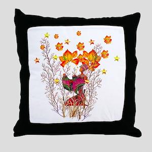 Winter Goddess Throw Pillow