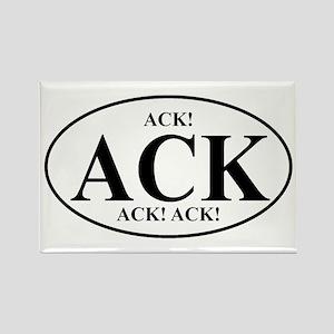ACK! ACK! ACK! Rectangle Magnet