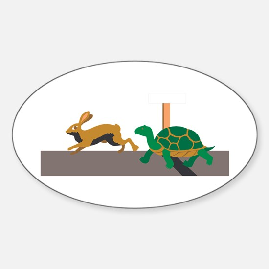 Tortoise and Hare Decal
