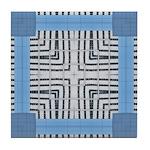 Abstract2 Tile Coaster