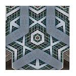 Abstract3 Tile Coaster