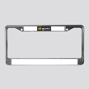 69 Born IIDM Clothing Brand License Plate Frame