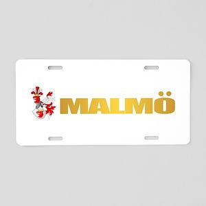 Malmo Aluminum License Plate