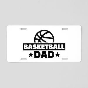Basketball dad Aluminum License Plate
