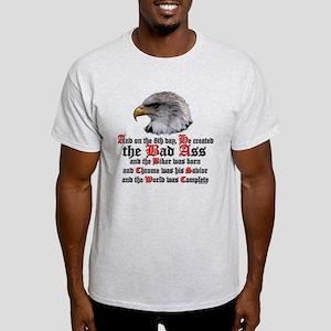 Biker Bad Ass Light T-Shirt