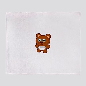 Ambala Emporium Teddy Brown Throw Blanket