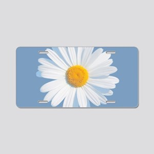 daisy Aluminum License Plate