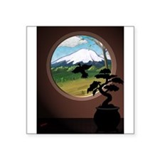 Window on the orient Sticker