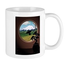 Window on the orient Mugs