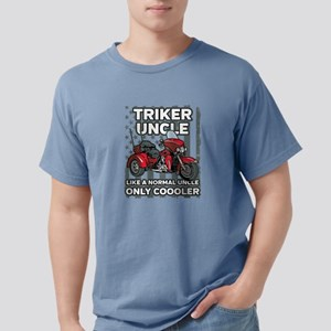 Motorcycle Triker Uncle Mens Comfort Colors Shirt