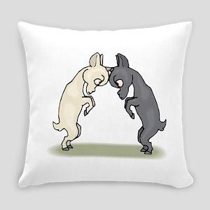 Goats Butting Heads Everyday Pillow