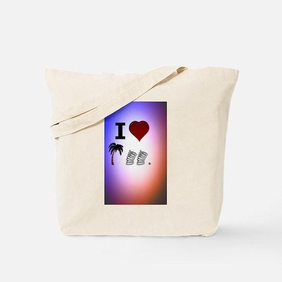 I Heart Palm Springs Tote Bag
