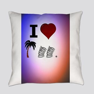 I Heart Palm Springs Everyday Pillow