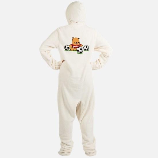 Teddy Bear Footed Pajamas