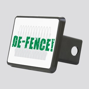 Defence - Green Rectangular Hitch Cover