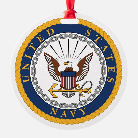 Cute Navy baby Ornament