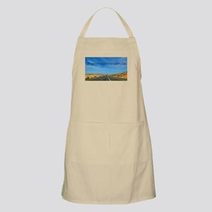 Life Begins at the End of Your Comfort Zone Apron