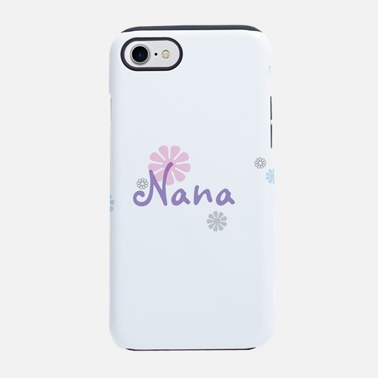 Nana Flowers iPhone 8/7 Tough Case