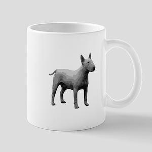 Bullterrier grayscale Mugs