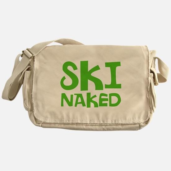 SKI NAKED Messenger Bag