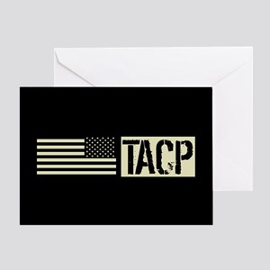 U.S. Air Force: TACP (Black Flag) Greeting Card
