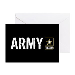Us army greeting cards cafepress m4hsunfo