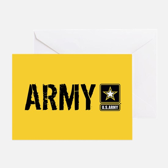 U.S. Army: Army (Gold) Greeting Card