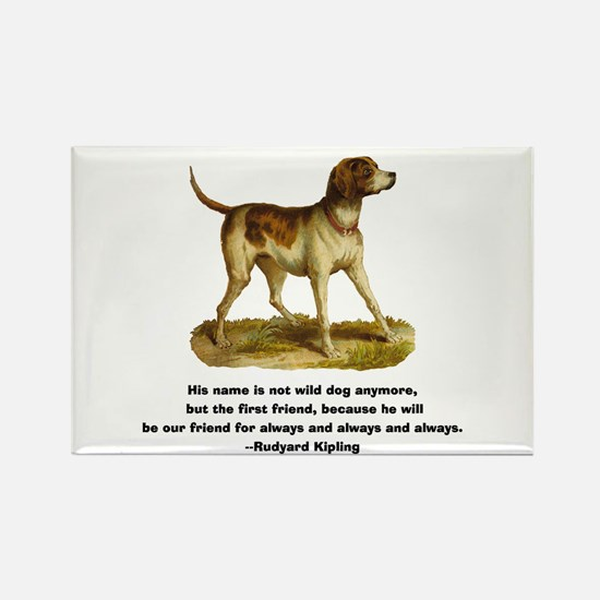 Kipling Quote Rectangle Magnet