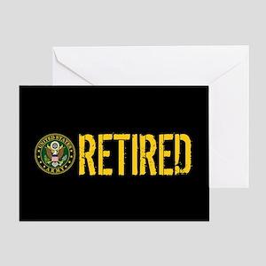 U.S. Army: Retired Greeting Card