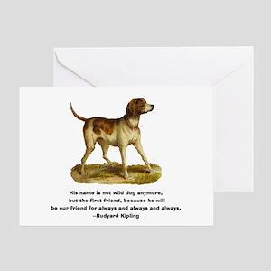 Kipling Quote Greeting Card
