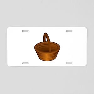 Shopping basket Aluminum License Plate
